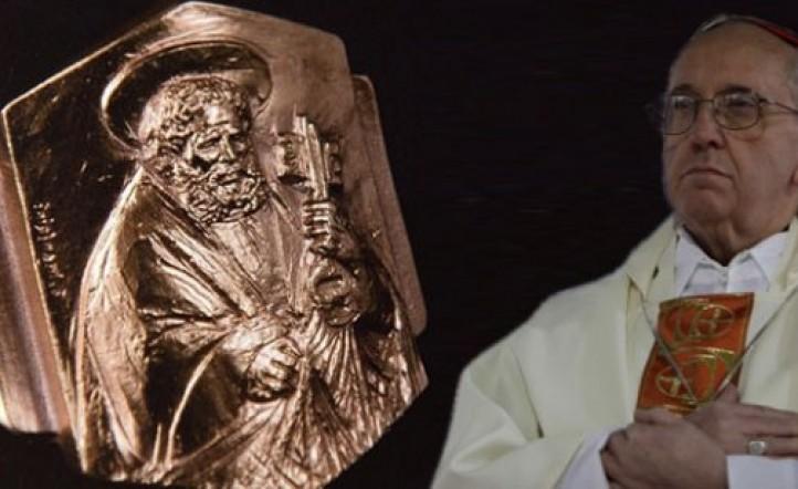 """Papa Francisco: ¿Qué son las """"llaves de Pedro"""" en el anillo del ..."""