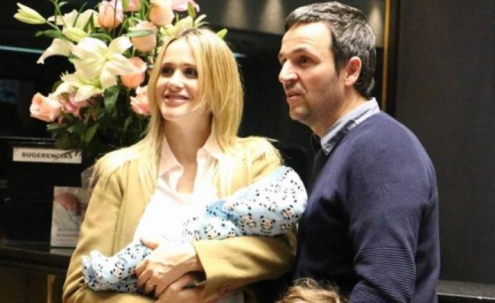 Nuevo integrante: Julieta Prandi presentó a Rocco, su segundo hijo