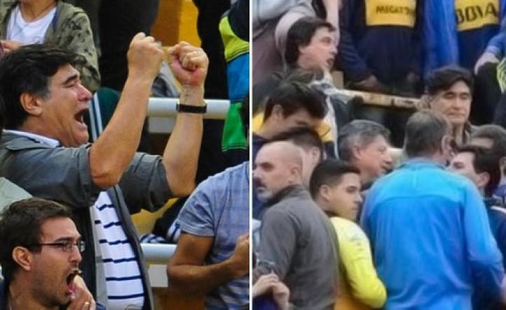 Video - Carlos Zannini fue escrachado en la Bombonera durante el Superclásico