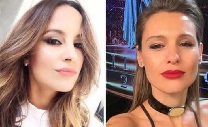 La primera guerra de polleras en el Bailando: Lourdes Sánchez vs. Pampita