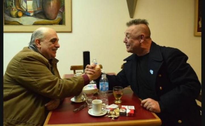 El increíble encuentro neonazi entre Ricardo Iorio y Alejandro Biondini