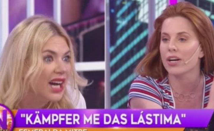 La terrible pelea entre Esmeralda Mitre con Julieta Kemble y Agustina Kämpfer en Incorrectas