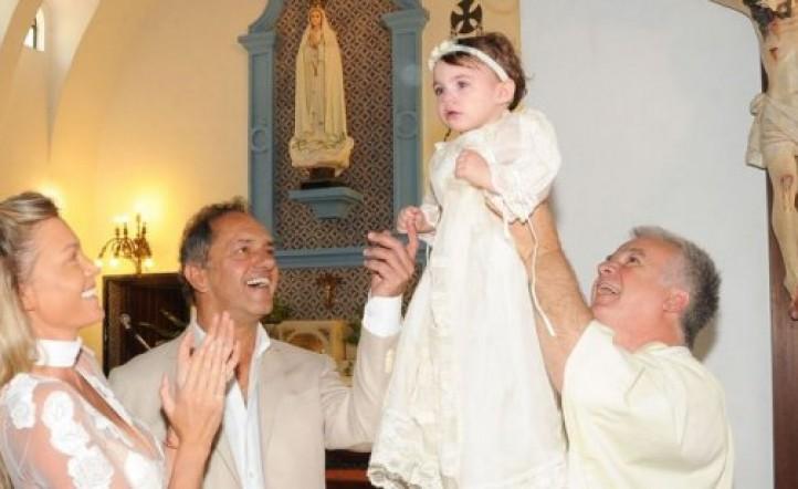 ¿Cómo fue el bautismo de Francesca Scioli?