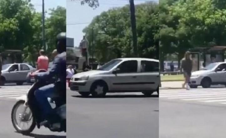 Vecinos se encontraron con Rodrigo Eguillor en la calle, lo escracharon y le dijeron que llame a su mami