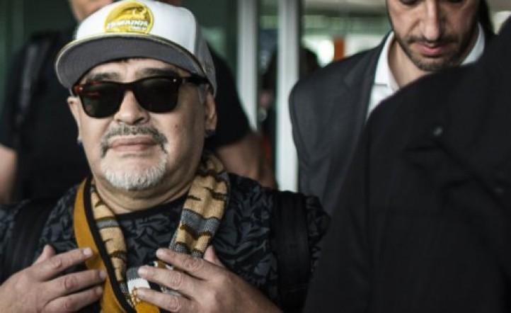 Estalló la interna en Dorados: Luis Islas puso en duda el futuro de Diego Maradona al mando