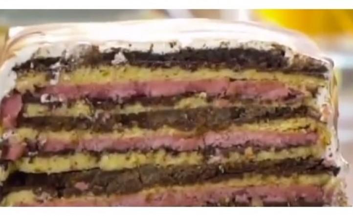 Para los últimos días de verano: torta helada sandwich