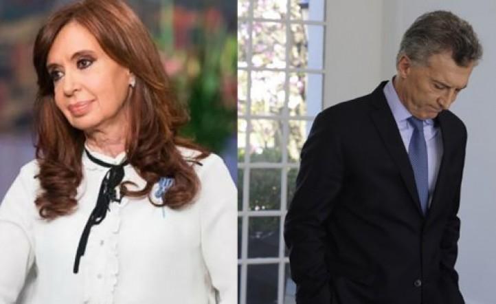 Una importante consultora afirma que Cristina Kirchner le gana por nueve puntos a Macri en un ballotage