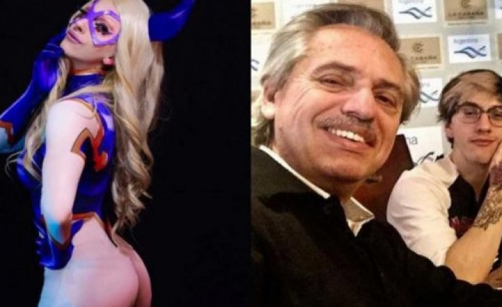Travestido, el hijo del presidente argentino 1563648386_1587560