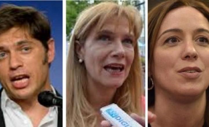 Qué dicen los números de una primera encuesta sobre la disputa entre Axel Kicillof - Verónica Magario y María Eugenia Vidal