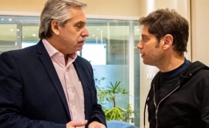 Alberto Fernández defendió a Axel Kicillof, negó estar estresado y acusó a Mauricio Macri de estar coacheado