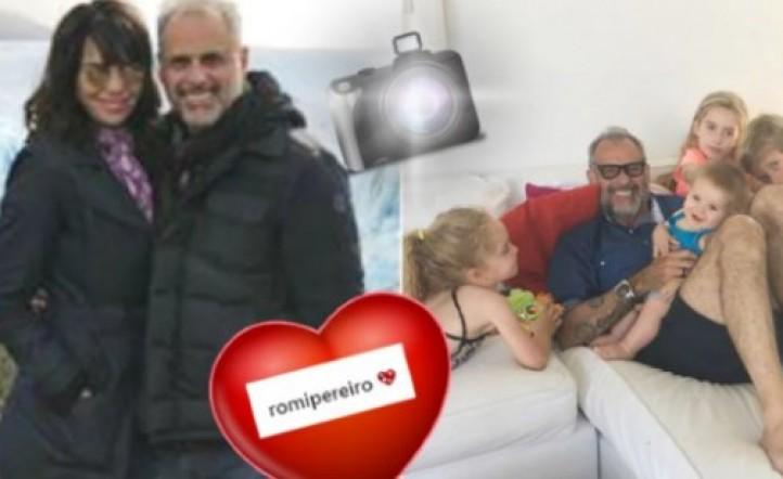 El tierno mensaje de Jorge Rial a la hija de Romina Pereiro: Tu sonrisa es muy importante