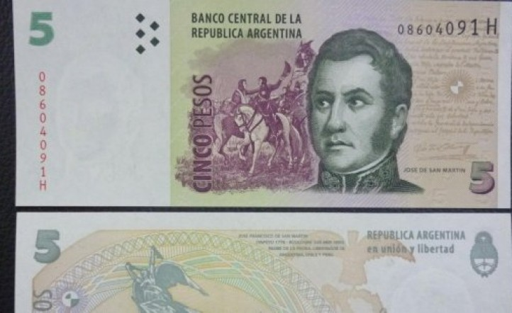 El billete de $5.