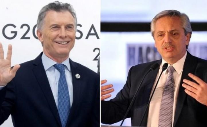 Alberto Fernández vs Mauricio Macri: encuestadora midió el voto seguro, el probable y el imposible
