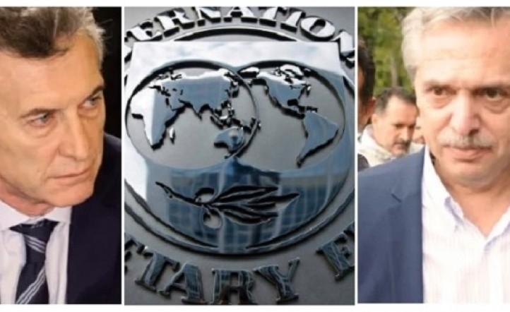 Macri FMI Alberto