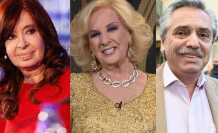 Mirtha, Alberto, Cristina