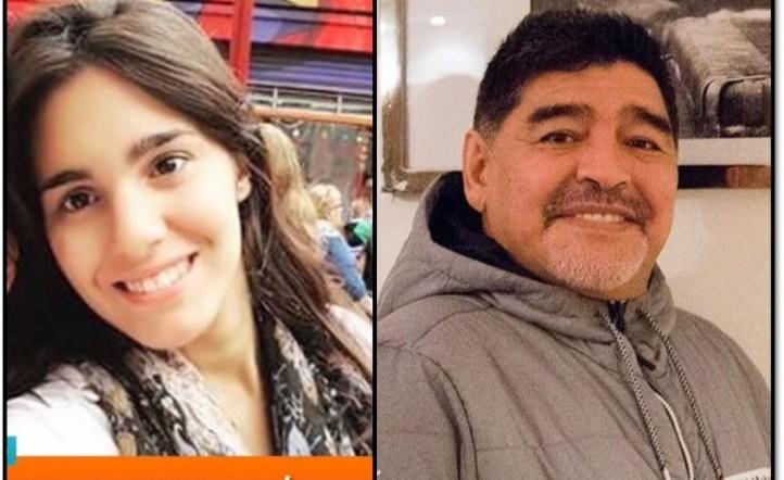 Magalí hija Maradona
