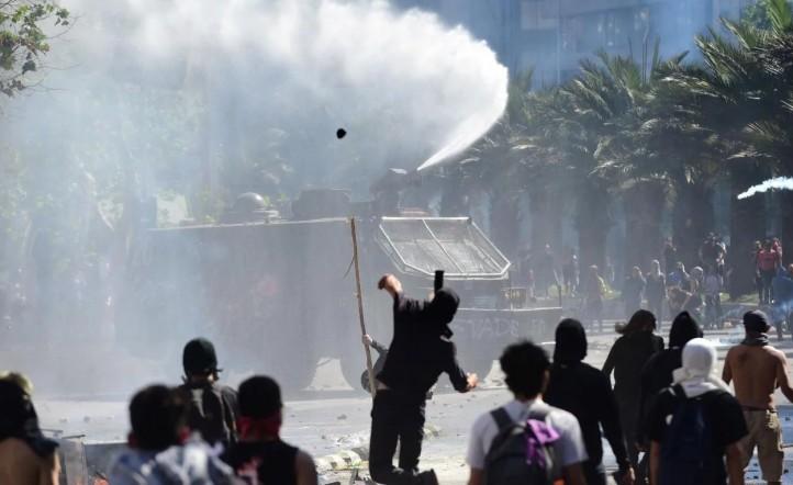 conflicto en chile