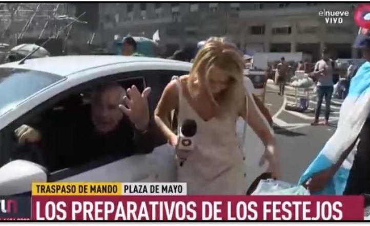Atropellaron periodista Telenueve