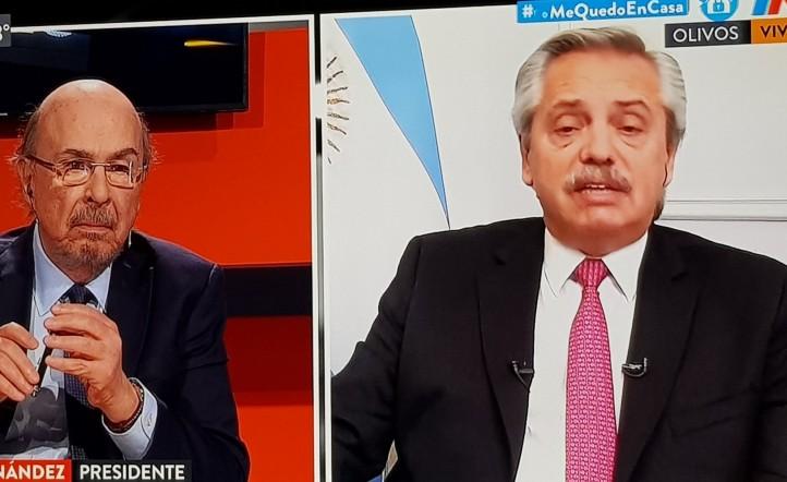 Joaquin Morales Sola Alberto Fernandez