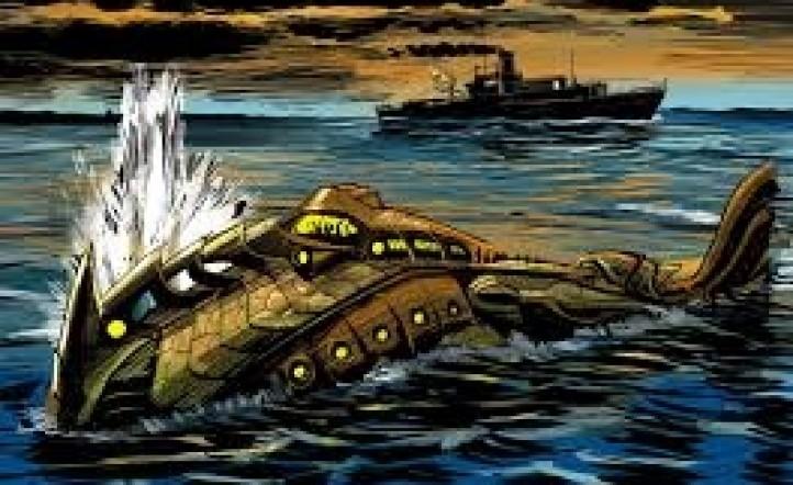 Veinte mil leguas de un viaje submarino