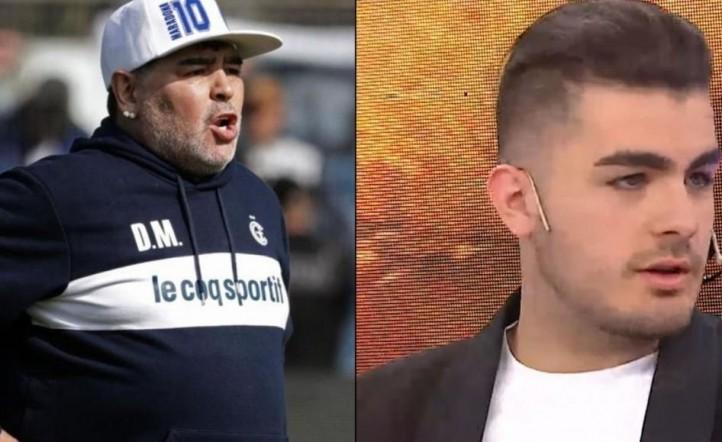 Diego Maradona Santiago Lara