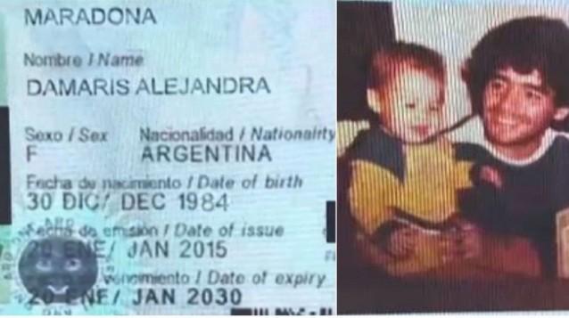 Nueva hija de Maradona