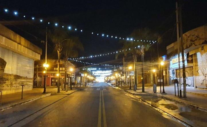 Así quedaron las calles de Tigre, en la zona norte del conurbano bonaerense.